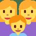 👩👩👦 family: woman, woman, boy Emoji on Twitter Platform
