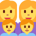 👩‍👩‍👦‍👦 family: woman, woman, boy, boy Emoji on Twitter Platform