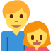 👨👧 Family With Man And Girl Emoji on Twitter Platform