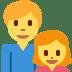👨👧 family: man, girl Emoji on Twitter Platform