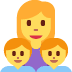 👩‍👦‍👦 family: woman, boy, boy Emoji on Twitter Platform