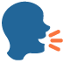 🗣️ Speaking Head Emoji on Twitter Platform