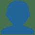 👤 bust in silhouette Emoji on Twitter Platform