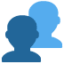 👥 busts in silhouette Emoji on Twitter Platform