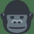 🦍 gorilla Emoji on Twitter Platform