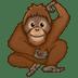 🦧 orangutan Emoji on Twitter Platform