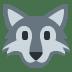 🐺 wolf Emoji on Twitter Platform