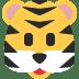 🐯 tiger face Emoji on Twitter Platform