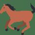 🐎 horse Emoji on Twitter Platform