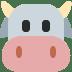 🐮 cow face Emoji on Twitter Platform