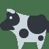 🐄 cow Emoji on Twitter Platform