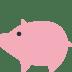 🐖 pig Emoji on Twitter Platform