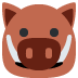 🐗 boar Emoji on Twitter Platform