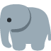 🐘 elephant Emoji on Twitter Platform