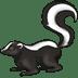 🦨 skunk Emoji on Twitter Platform