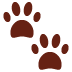 🐾 paw prints Emoji on Twitter Platform