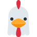 🐔 chicken Emoji on Twitter Platform