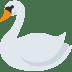 🦢 swan Emoji on Twitter Platform