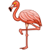 🦩 flamingo Emoji on Twitter Platform