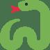 🐍 snake Emoji on Twitter Platform