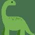 🦕 sauropod Emoji on Twitter Platform