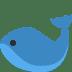 🐋 whale Emoji on Twitter Platform