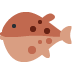 🐡 blowfish Emoji on Twitter Platform