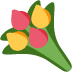 💐 Karangan Bunga Emoji pada Platform Twitter