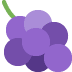 🍇 Grapes Emoji on Twitter Platform