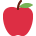 🍎 red apple Emoji on Twitter Platform