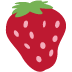 🍓 strawberry Emoji on Twitter Platform