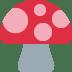 🍄 mushroom Emoji on Twitter Platform