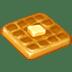 🧇 Waffle Emoji on Twitter Platform