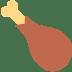 🍗 poultry leg Emoji on Twitter Platform