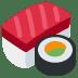 🍣 sushi Emoji on Twitter Platform