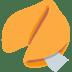 🥠 fortune cookie Emoji on Twitter Platform