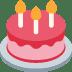 🎂 birthday cake Emoji on Twitter Platform