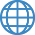 🌐 globe with meridians Emoji on Twitter Platform