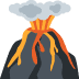 🌋 volcano Emoji on Twitter Platform
