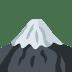 🗻 mount fuji Emoji on Twitter Platform