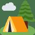 🏕️ Camping Emoji auf Twitter-Plattform