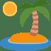 🏝️ desert island Emoji on Twitter Platform