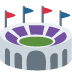 🏟️ stadium Emoji on Twitter Platform