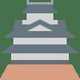 🏯 Japanese castle Emoji on Twitter Platform