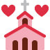 💒 wedding Emoji on Twitter Platform