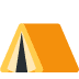 ⛺ tent Emoji on Twitter Platform