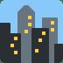 🏙️ cityscape Emoji on Twitter Platform