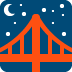 🌉 bridge at night Emoji on Twitter Platform