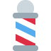 💈 barber pole Emoji on Twitter Platform