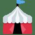 🎪 circus tent Emoji on Twitter Platform